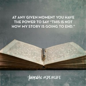 NOT HOW MY STORY ENDS